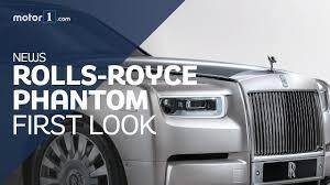 2018 rolls royce phantom viii updating a legend motor1 uk youtube