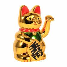 shop modern lucky wealth electric waving cat