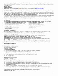 Technical Support Resume Template Hp Support Resume Recruiter Resume Sample Resumes Exchange