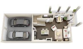 Quick Floor Plan by 2 Townhomes And Lofts 3dplans Com