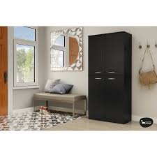Door Armoire South Shore Smart Basics 4 Door Armoire Multiple Finishes