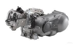 motor completo del despiece o desguace de una moto suzuki burgman