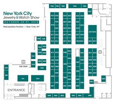 floorplan new york city jewelry watch show auto idolza