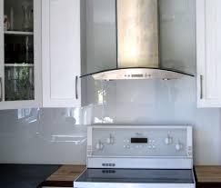 cuisine en verre blanc bien cuisine blanc et bois 14 cuisine verre 201b232ne kirafes