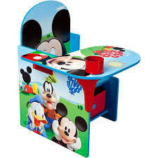Desk Chair Amazon Com Disney Chair Desk With Storage Bin Mickey Mouse