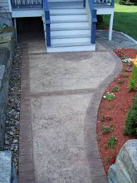 Pictures Of Stamped Concrete Walkways by Gs Flatwork Llc Decorative Stamped Concrete Walkways