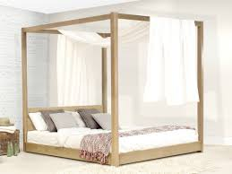 wooden canopy bed four poster bed summer by get laid beds