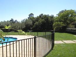 ornamental iron pool fence archives fence factory