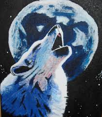 wolf howling at the moon by seigfried sozen on deviantart