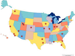 interactive map of the us interactive us map united states of and capitals inside us