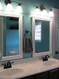 Frames For Mirrors In Bathrooms Bathroom Framed Mirrors Interior4you