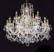 Bohemian Glass Chandelier Luscious Textiles Glass Lucite And Crystal