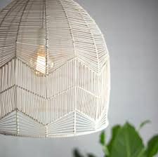 Wicker Pendant Light Birds Turn Me On
