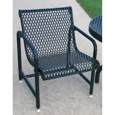 Metal Patio Chair Outdoor Patio Chair Expanded Metal Mesh Availability Build To