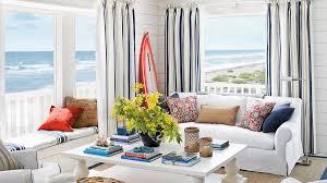 livingroom photos 40 beautiful beachy living rooms coastal living