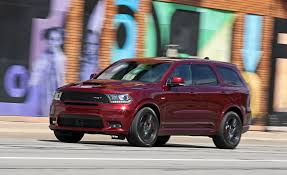 Dodge Durango Srt8 Price 2018 Dodge Durango Srt Pictures Photo Gallery Car And Driver