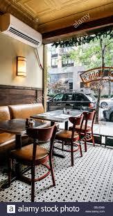 Restaurant Tile Modest Comfortable Retro Interior Of Old Greek Restaurant With