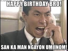 Chinese Man Meme - happy birthday bro san ka man ngayon umiinom chinese factory