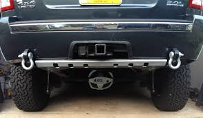jeep grand cherokee rear bumper 4xguard rear guard gallery