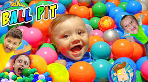 ball pit in our house crazy kids get 22k balls funnel vision
