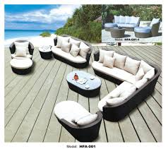 Wicker Rattan Patio Furniture - online cheap large size outdoor sofa set new design garden
