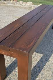 Wood Lawn Bench Plans by Best 25 Rustic Bench Ideas On Pinterest Rustic Wood Bench