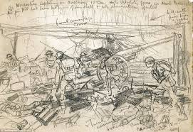 first world war sketches by winnie the pooh illustrator eh shepard