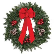fresh christmas wreaths u0026 garland christmas decorations the