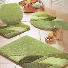 Bathroom Rug Sets 3 Piece by Fleece Fabric Printed Bedroom Fashion Pink Love Long Bedside Mat