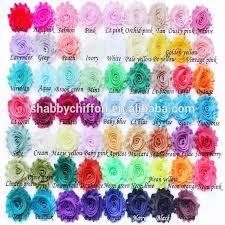Shabby Flowers List Manufacturers Of Shabby Flowers For Headband Buy Shabby