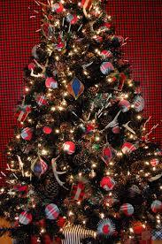 Halloween Ornament Tree by Black And Plaid For Christmas Blog Treetopia Com Blog