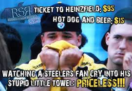 Steelers Suck Meme - steelers fan crying towel jpg 640纓438 whodey bengals pinterest