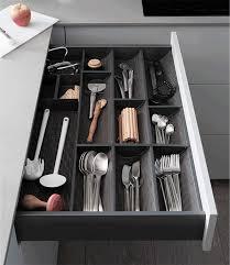 organisateur tiroir cuisine tiroirs aménagés duplex et aménagement muraux mobalpa