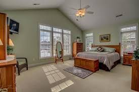 Bedroom Ceiling Mirror by Traditional Master Bedroom With Ceiling Fan U0026 Carpet In Longs Sc