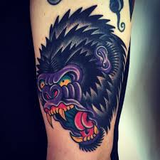 best 25 gorilla tattoo ideas on pinterest lion sleeve