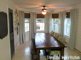 dining room windows done domestic imperfection