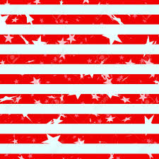 The Amarican Flag Seamless Illustration Resembling The American Flag With Stars