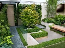 beauti minimalist garden inside the house garden design