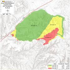 California Wildfires Map 2016 06 19 11 11 49 241 Cdt Jpeg