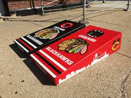 Blackhawk Flag Side Ground View Of These Chicago Blackhawk Board U2026 Flickr