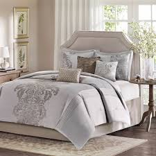 Taupe Comforter Sets Queen Modern Bedding Sets Queen Buy Modern Comforter Set From Bed Bath