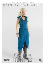 game of thrones daenerys targaryen 1 6th scale action figure
