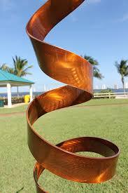 Copper Garden Art Amazon Com Abstract Modern Copper Freestanding Metal Yard Garden