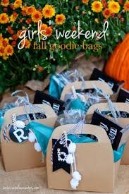 weekend trip goodie bag creative ideas for events