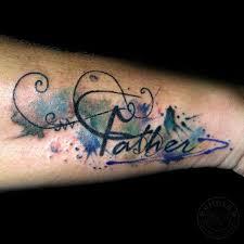 rollovertattoo indonesia watercolor tattoo letter tattoo