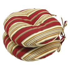 Round Outdoor Bistro Chair Cushions by Round Outdoor Bistro Chair Cushions Choice Comfort Your Cushions