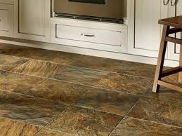 Interlocking Vinyl Flooring by Kitchen Flooring Shell Tile Vinyl For Pebbles Random Red Glazed