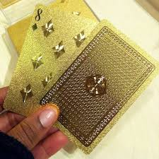 faux luxe cards gold cards