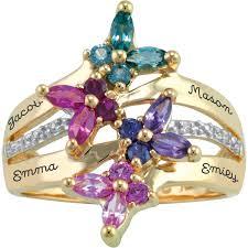 personalized keepsake personalized keepsake meadow ring walmart