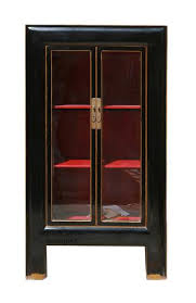 awesome black display cabinet with glass doors 87 in home pictures